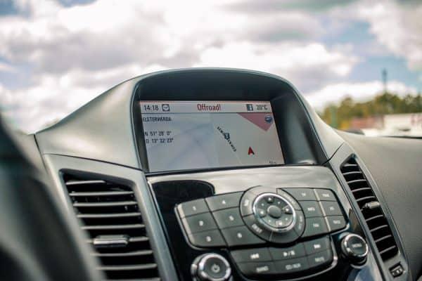 Navigationssystem Chevrolet Orlando
